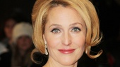 Les Miserables London premiere  Gillian Anderson