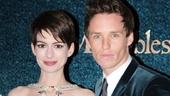 Les Miserables London premiere  Anne Hathaway  Eddie Redmayne