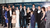 Les Miserables London premiere  cast shot