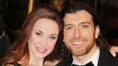 Les Miserables London premiere  Sierra Boggess  Tam Mutu