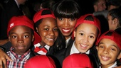 The Bodyguard opening night  Heather Headley  kids