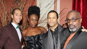 The Bodyguard opening night  Ashley-Jordon Packer  Janet Kumah  Jordan Darrell  Ray Shell