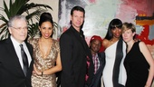 The Bodyguard opening night – Lawrence Kasdan – Debbie Kurup – Lloyd Owen – Malaki Paul – Heather Headley – Thea Sharrock