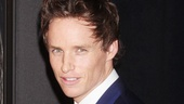 Could Eddie Redmayne (Marius) be any cuter? Even better, he is the nicest guy around.