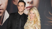 Les Miserables New York premiere  Cheyenne Jackson  Ari Graynor