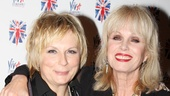 Viva Forever opening night  Jennifer Saunders  Joanna Lumley