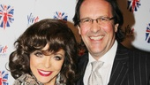 Viva Forever opening night  Joan Collins  Percy Gibson