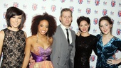 Viva Forever opening night  Kirstie Skivington  Charlotte Walcott  Anthony Topham  Helen Ternent  Roxanne Palmer