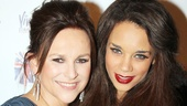 Viva Forever opening night  Sally Ann Triplett  Hannah John-Kamen