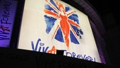 Viva Forever opening night  marquee