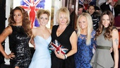 Viva Forever opening night  Melanie Brown  Geri Halliwell  Emma Bunton  Melanie Chisholm  Judy Craymer