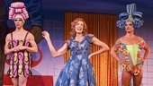 Wade McCollum as Tick, Scott Willis as Bernadette and Bryan West as Adam in the national tour of Priscilla Queen of the Desert.