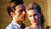 Sebastian Stan as Hal Carter and Maggie Grace as Madge Owens in Picnic.