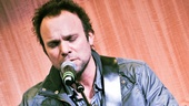 "In performance at Barnes & Noble, Norbert Leo Butz gives a beautiful rendition of ""Killing the Blues."""