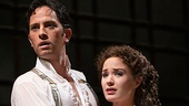 Kyle Barisich as Raoul and Sierra Boggess as Christine in The Phantom of the Opera.
