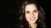 Carly Rose Sonenclar visits 'Spider-Man' - Carly Rose Sonenclar