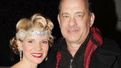 Nice Work – Tom Hanks Backstage – Kelli O'Hara – Tom Hanks