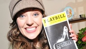 Laura Osnes giddily presents the program from Cinderella's first night on Broadway.