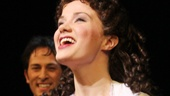 Bravo! Phantom star Sierra Boggess gazes out into the cheering crowd.