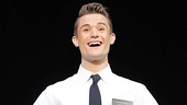 Mark Evans as Elder Price in the national tour of The Book of Mormon.