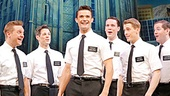 The cast of the national tour of The Book of Mormon.