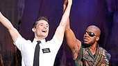 Show Photos - Book of Mormon - tour 1 - Mark Evans - Derrick Williams