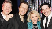 Joan Rivers at 'Forbidden Broadway' — David Caldwell — Scott Richard Foster — Joan Rivers — Marcus Stevens