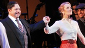 Fiorello!'s golden couple Danny Rutigliano and Erin Dilly come together for their closing night bow.