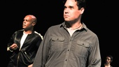 Hit the Wall Rehearsal- Nathan Lee Graham-  Matthew Greer- Rania Salem Manganaro