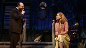 Sarah Paulson as Sally Talley and Danny Burstein as Matt Friedman in Talley's Folly.
