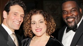 Anthony Crivello, Mary Testa and Phillip Boykin can all attest: Audra McDonald is a fantastic leading lady to work with!