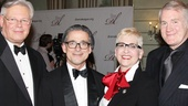 Drama League Gala for Audra 2013  Tom Duane  Louis Webre -  Marcia Milgrom Dodge  Tony (husband)