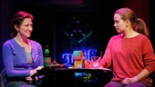 Edie Falco as Martha and Phoebe Strole as Sarah in The Madrid.