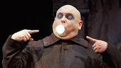 Shaun Rice as Uncle Fester in the national tour of The Addams Family.