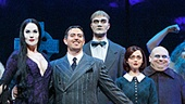 The national tour cast of The Addams Family.