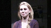Zosia Mamet takes her first official off-Broadway bow.