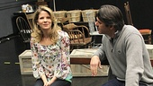 Carousel Rehearsal  Kelli OHara  Nathan Gunn
