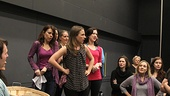 Carousel Rehearsal  Jessie Mueller