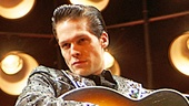 David Elkins as Johnny Cash in the national tour of Million Dollar Quartet.