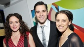 Melissa Errico (Clara), Ryan Silverman (Giorgio) and Judy Kuhn (Fosca) lead the new revival of Sondheim's classic musical Passion.