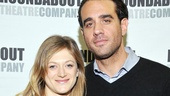 Cannavale puts an arm around Marin Ireland, who plays Charlie's not-so-happily married wife Marion.