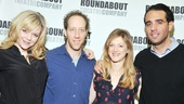 Ana Reeder and Joey Slotnick (as married couple Connie and Buddy Bliss) buddy up with The Big Knife's other pair, Marin Ireland and Bobby Cannavale.