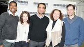 Billy Eugene Jones, Rachel Brosnahan, Bobby Cannavale, Brenda Wehle and Adam Rapp look smashing in 2013 before they&#39;ll time warp to the &#39;40s on stage!
