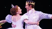 Laura Osnes as Cinderella, Santino Fontana as Prince Topher and ensemble in Cinderella