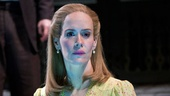 Danny Burstein as Matt Friedman and Sarah Paulson as Sally Talley in Talley&#39;s Folly.