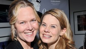 A beautiful mother-daughter shot of Rebecca Luker and Celia Keenan-Bolger as Mrs. Webb and Emily.