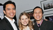 Joining Celia in Grover's Corners are Jose Llana as Sam Craig and B.D. Wong as the Stage Manager, a role he shared with Blythe Danner and S. Epatha Merkerson.