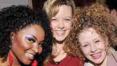 Rock of Ages ladies Theresa Stanley, Kate Rockwell and Josephine Rose Roberts are obviously having a blast.