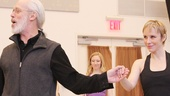 Real-life spouses Terrence Mann and Charlotte d'Amboise play husband and wife, Charles and Fastrada, in the new production!
