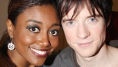 Bravo! Patina Miller and Matthew James Thomas are all smiles after the performance.